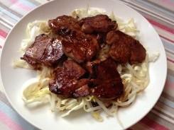 豚ひれ肉のグリエ しょうゆ風味