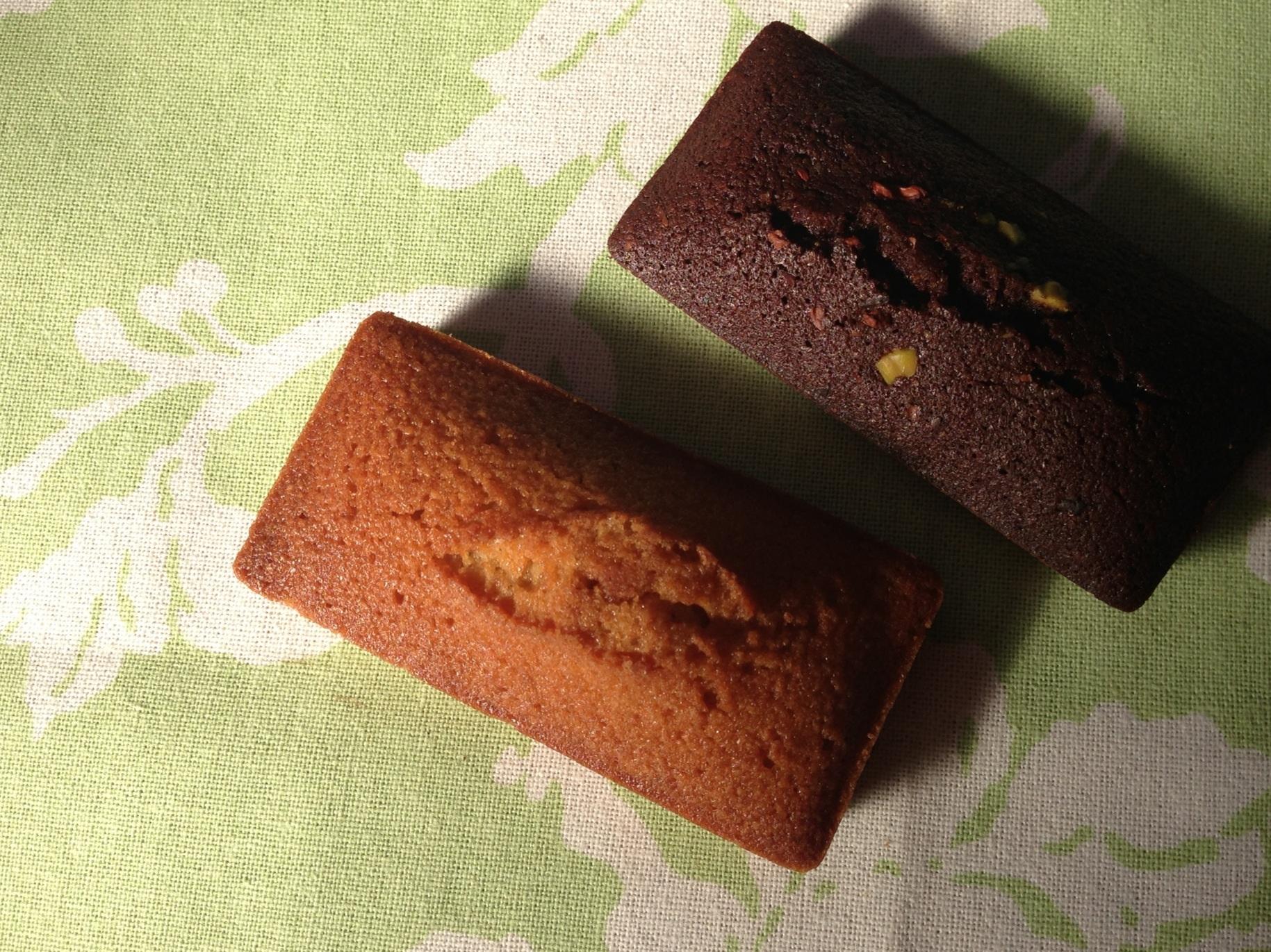 フィナンシェ&ショコラ・フィナンシェ(noix de beurre)