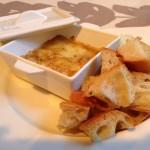 アボンダンスのチーズフォンデュ(Bienfait Café)×アルザスの白ワイン