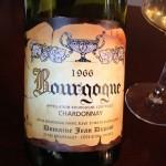 1966 Brougogne Chardonnay