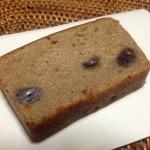 あんこのパウンドケーキ(空いろ×ブールミッシュ)×日本の純米吟醸