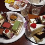 【レシピブログ:西武池袋本店「クリスマスケーキ試食会」】クリスマスケーキ各種×泡(辛口、甘口)、赤、白、ロゼ