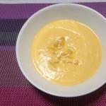 バターナッツかぼちゃと栗のスープ×ブルゴーニュのシャルドネ