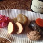 おせち料理×シャンパーニュのブラン・ド・ブラン