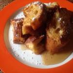 大人のパン・ペルデュ×チリのシャルドネ
