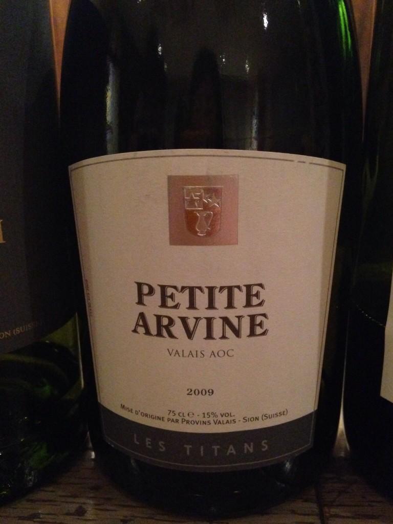 2009 Petite Arvine Valais AOC Les Titans Provins Valais