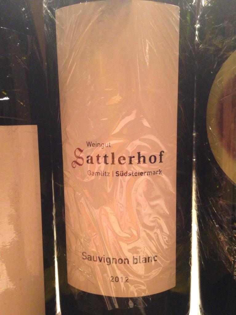 2012 Sauvignon Blanc Klassik(Sattlerhof)