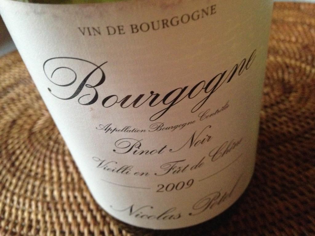 2009 Bourgogne Pinot Noir Nicolas Potel