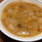 胡麻と味噌の根菜スープ×山梨の白