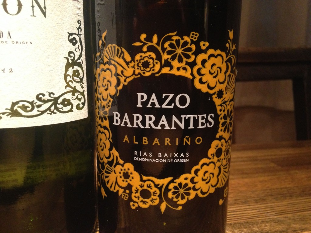 2012 Marques de Murrieta Pazo Barrantes Albarino