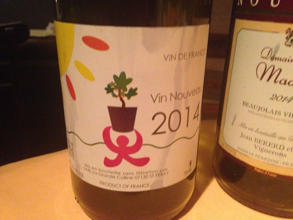 2014 Vin Nouveau La Grande Colline