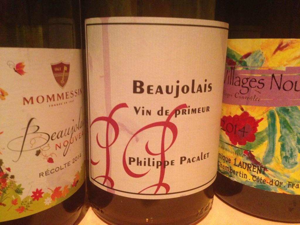 2014 Beaujolais Vin de Primeur Phillipe Pacalet