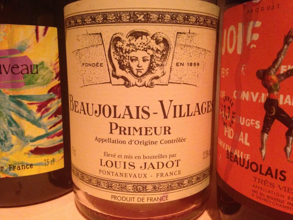 2014 Beaujolais Villages Primeur Louis Jadot