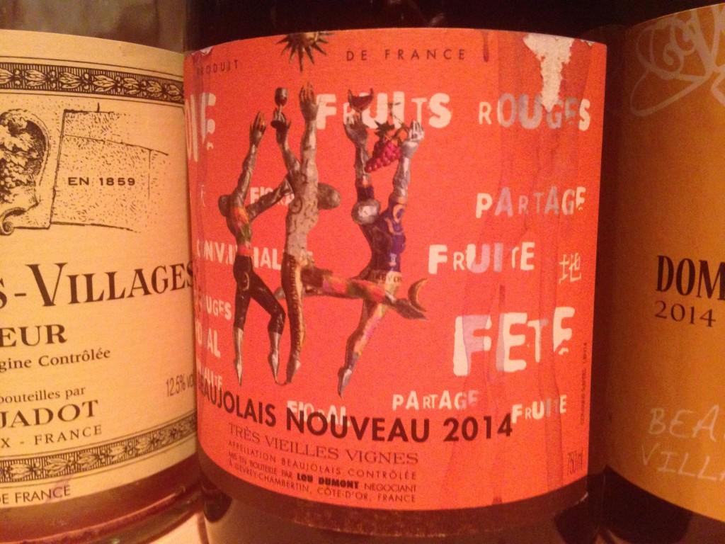 2014 Beaujolais Nouveau Tres Vieilles Vignes Domaine Lou Dumont