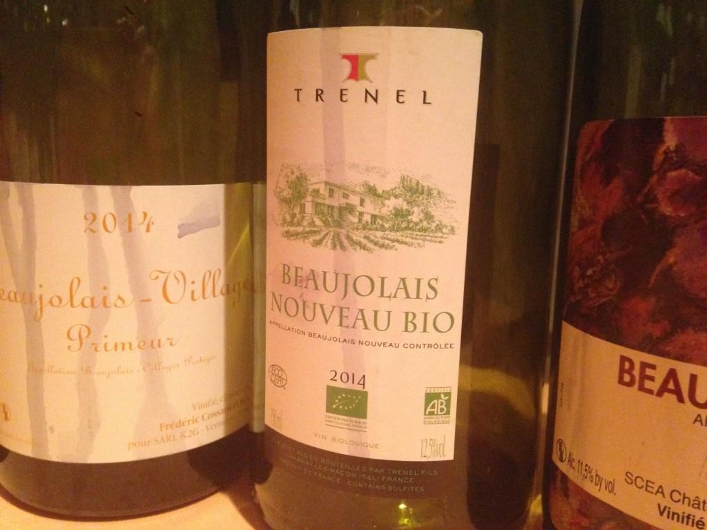 2014 Beaujolais Nouveau Bio Trenel