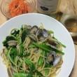 かき菜とあさりの春色ボンゴレビアンコ×イタリアの白