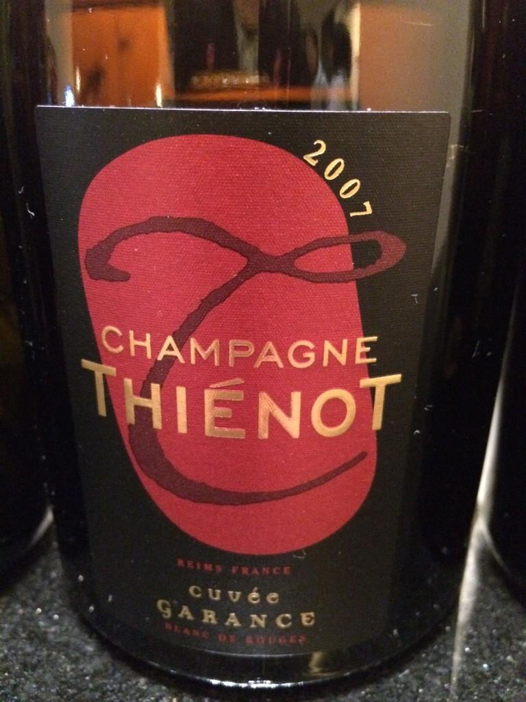 Champagne Thienot Cuvee Garance Blanc de Noirs 2007
