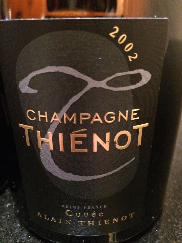 Champagne Thienot Cuvee Alain Thienot 2002
