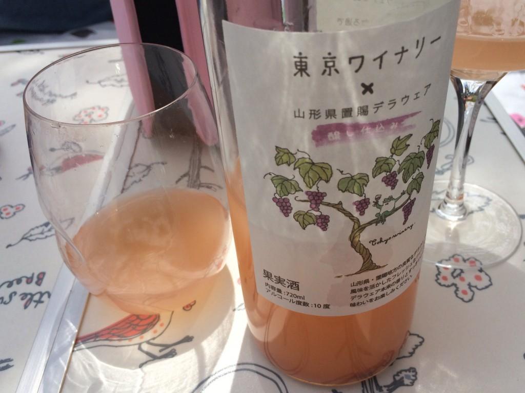 2014 東京ワイナリー×山形県置デラウェア 醸し仕込み