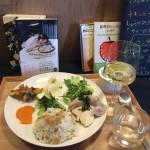5月2日のごはんプレート×フランスのソーヴィニヨンブラン(あたらしい日常料理ふじわら)