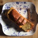 バナナのケークサレ×ビオンタ・アルバニーリョ、そして豆乳チャイ