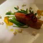 さくら鱒の生春巻き焼き、真鯛の冷製カッペリーニ×北イタリアの白(Gene Dining)
