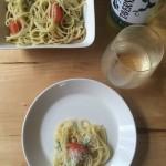 【レシピブログ】きゅうりとトマトの冷製パスタ×タベルネッロ ビアンコ イタリア