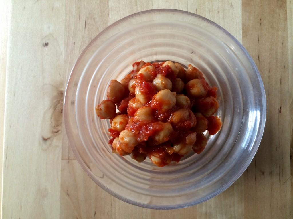 ひよこ豆のチリビーンズ