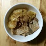 豚丼×チリのロゼ