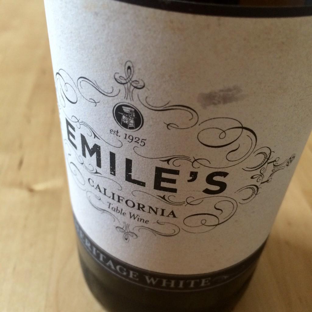 Guglielmo Winery Emile's White