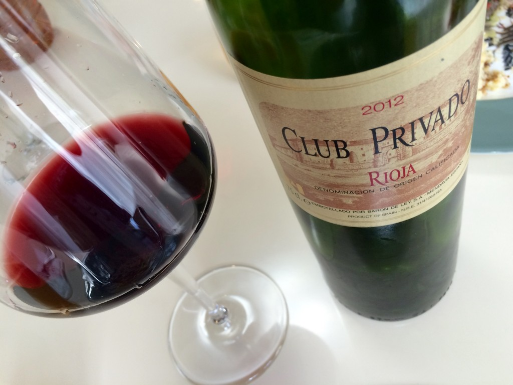 2012 Club Privado Rioja