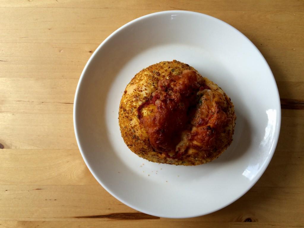 焼きトマトカレーパン