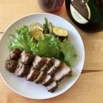 【レシピブログ】ローストポーク × ドイツの赤ワイン