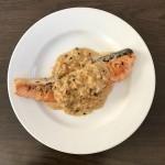 【レシピブログ】サーモンのソテー グリーンペッパーソース × フランスのソーヴィニヨン・ブラン