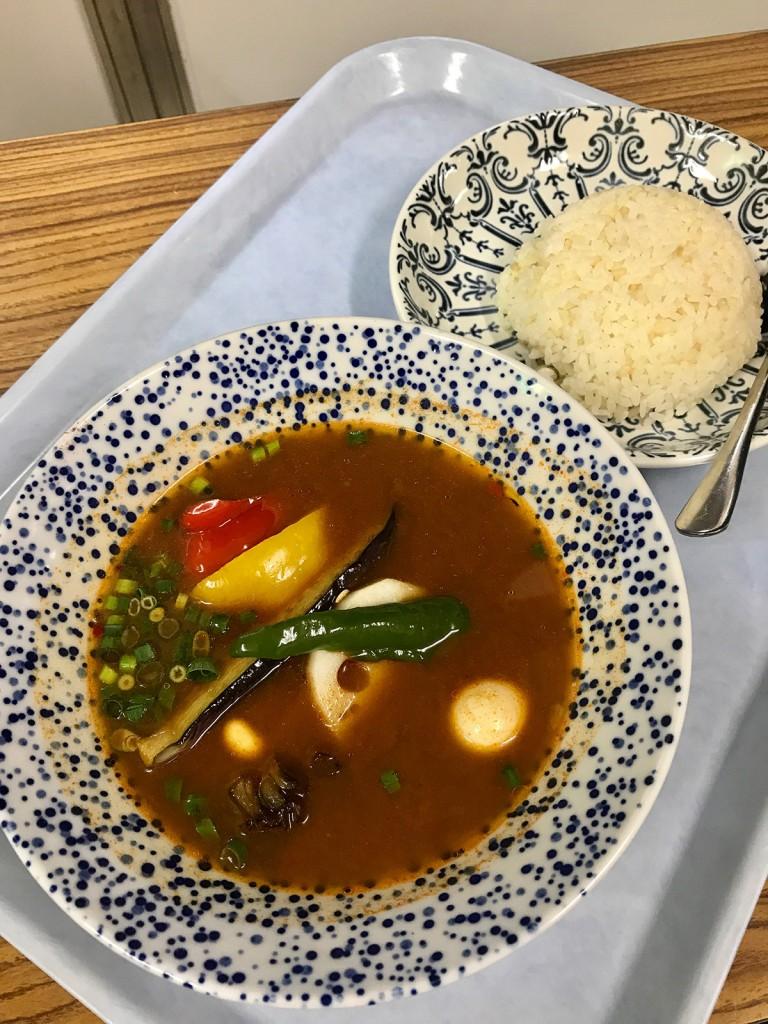 野菜スープカリー