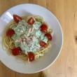 きゅうりとミニトマトの冷製パスタ