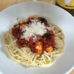 【レシピブログ】トマトとズッキーニの冷たいパスタ×イタリア・シチリアの白