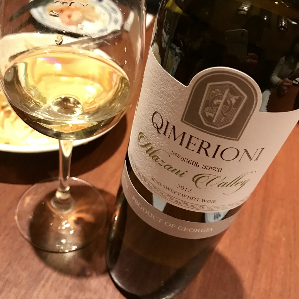 QIMERIONI Alazani Valley White 2012