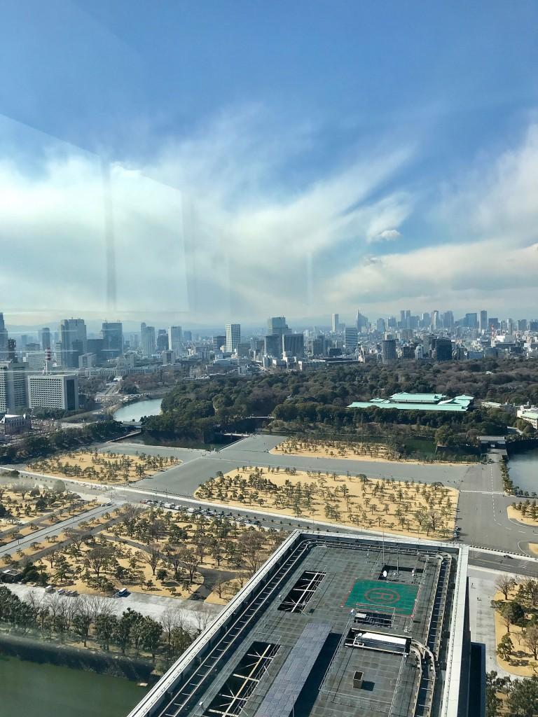 丸ビル35Fからの眺め