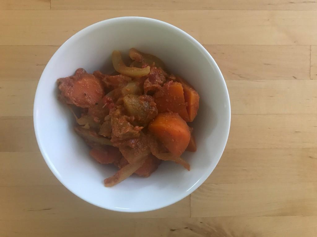 根菜のラタトゥイユ カレー風味
