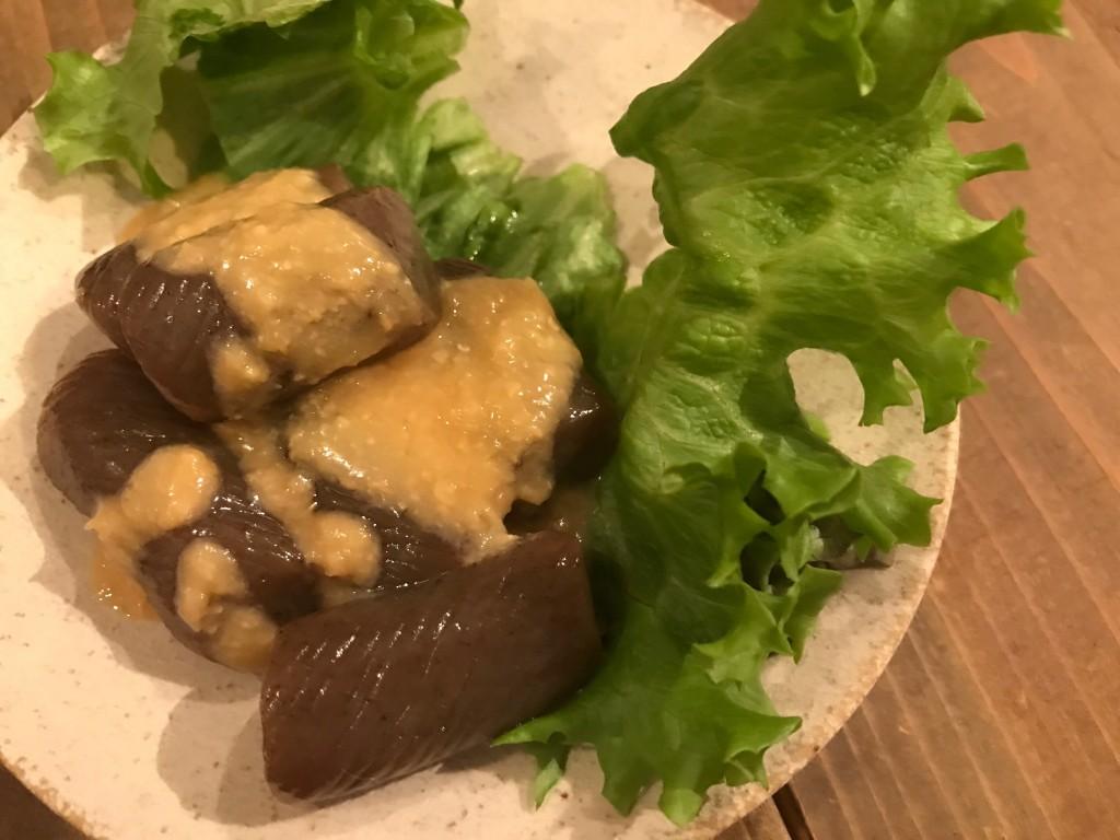 酢味噌こんにゃく(おはしごはん)