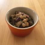【レシピブログ】きのこと豆のマリネ × フランスの赤
