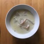 【レシピブログ】かぶとハムのしょうが豆乳スープ × 山梨の白