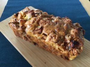 りんごとさつまいものケークサレ ローズマリー風味
