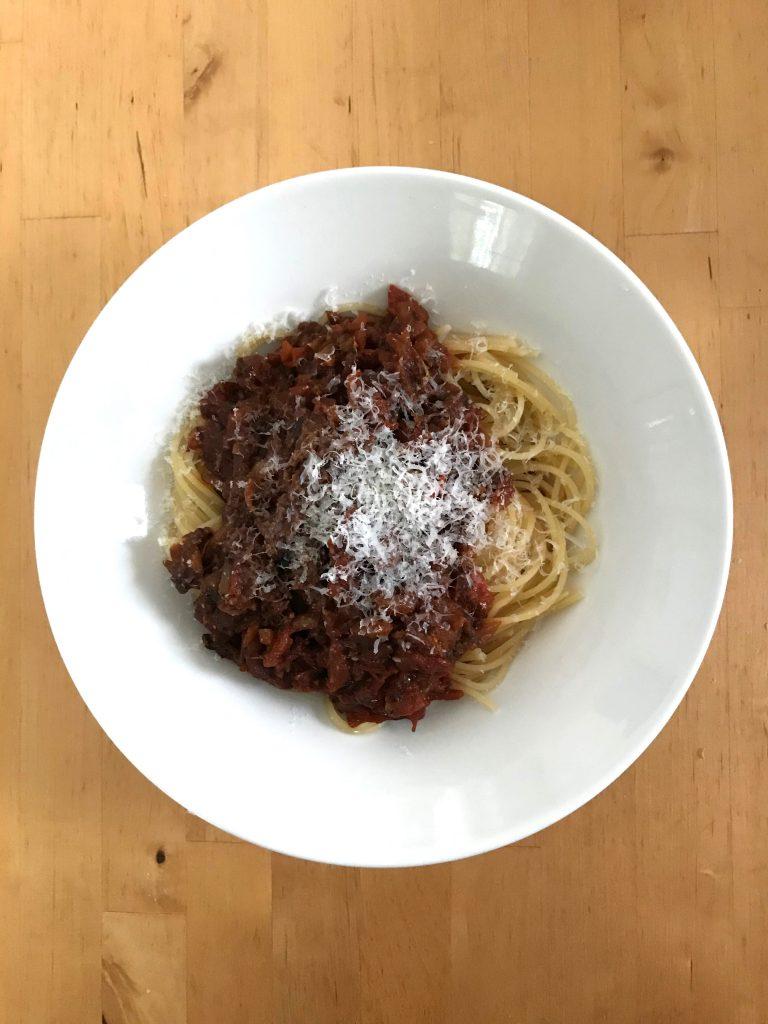 スパゲティ簡単トマトソース