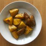 【レシピブログ】インカのめざめのローズマリー ポテト × ブルゴーニュのシャルドネ