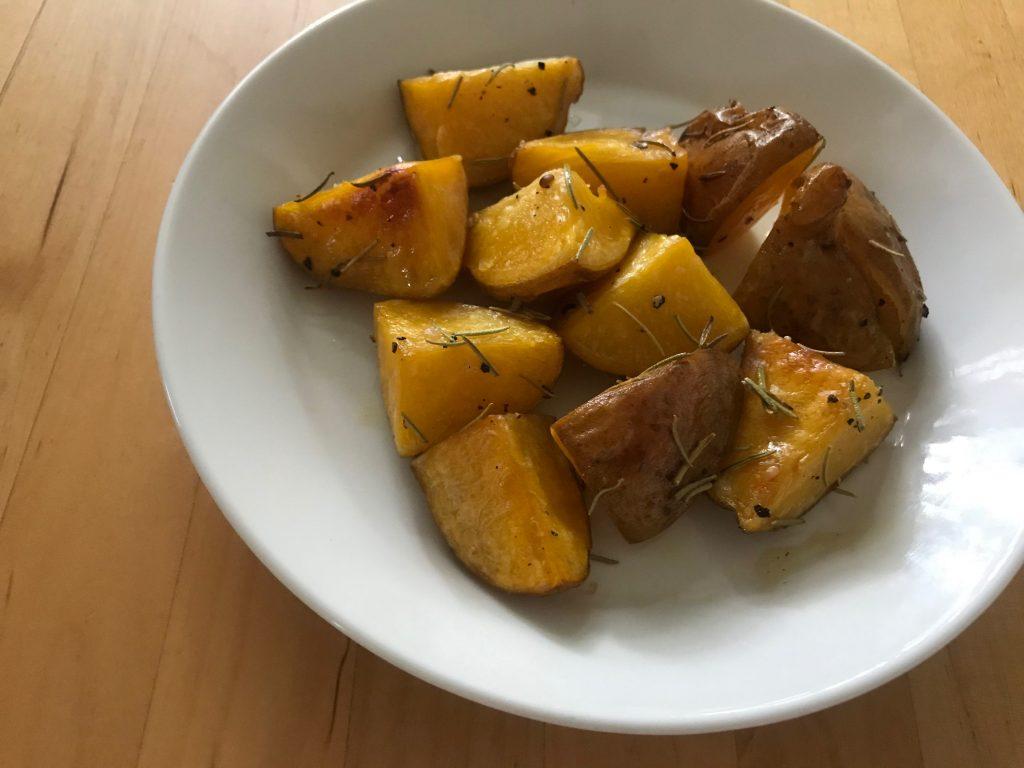インカのめざめのローズマリー ポテト